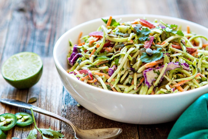 recipe: broccoli slaw salad paleo [16]