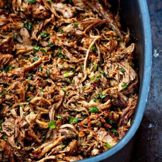 Slow Cooker Southwestern Pulled Pork