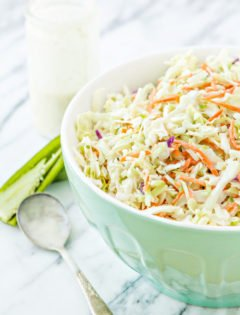 Creamy Jalapeño BBQ Coleslaw recipe