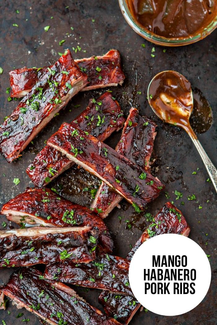 Mango Habanero Pork Ribs