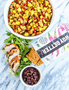 Chipotle Lime Cilantro Grilled Chicken - Grilled Chicken Walking Tacos