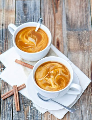 Easy Pumpkin Spice Chai Latte