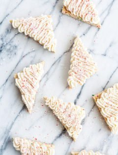 Candy Cane Crunch Funfetti Sugar Cookie Bars