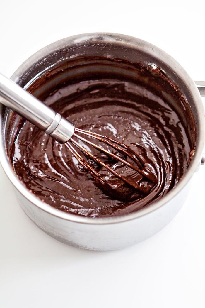 Dark Chocolate Molten Lava Cake Sundaes