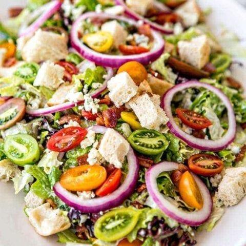 Bleu Cheese BLT Salad