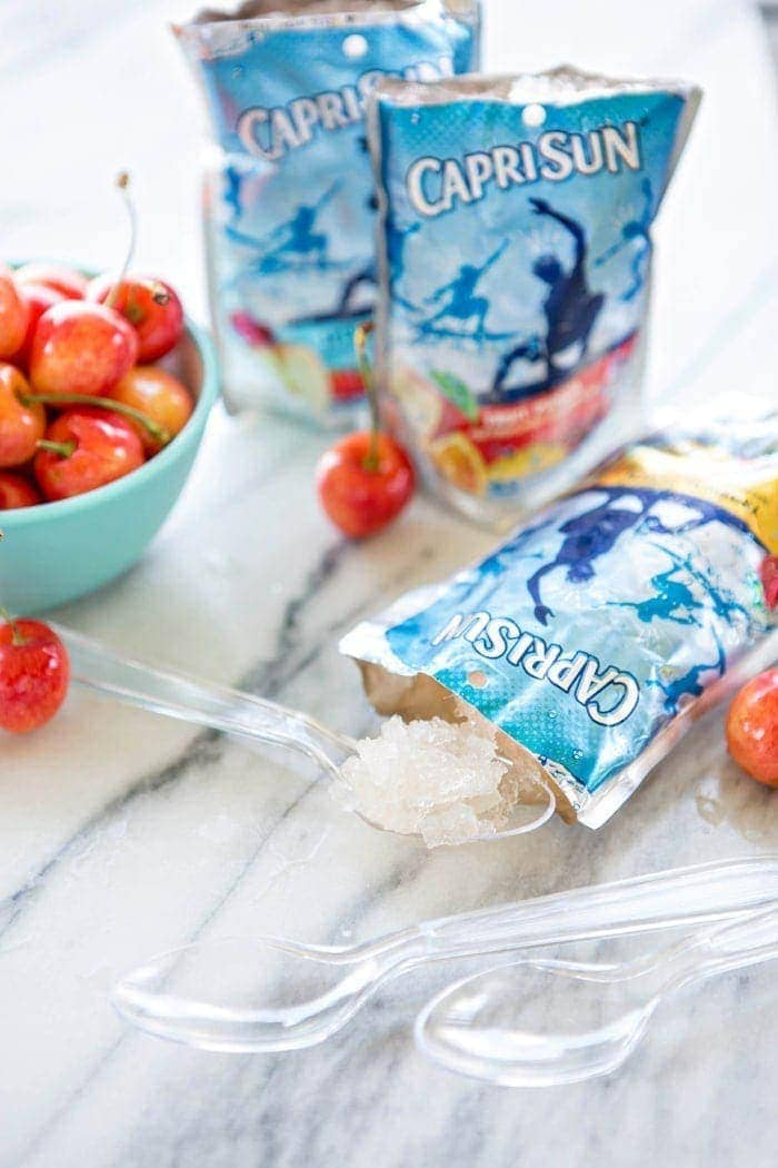 One Ingredient Slushie and Pool Bag Essentials