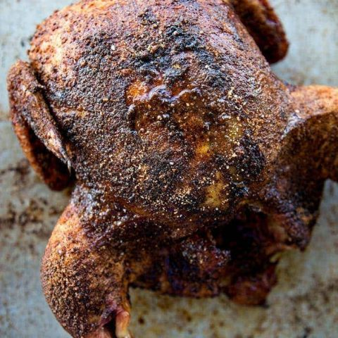 Easy Smoked Chicken