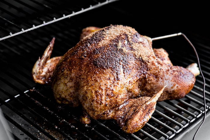 how to smoke chicken on traeger