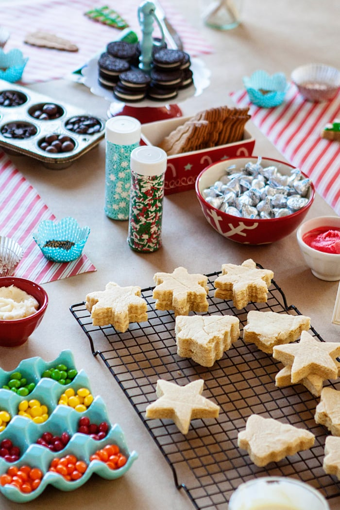 Tips to Prepare for a Fun Winter Break with Kids - How to Host a Kids Cookie Decorating Party