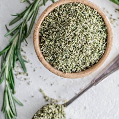 Garlic Herb Peppercorn Dry Brine for Turkey