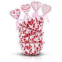 Valentine's Day Baking Cups