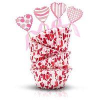 Valentine's Day Baking Cups