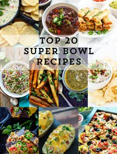 Check out our Reader Favorite Top 20 Super Bowl Recipes that will keep your guests coming back for more . . . and even more. They are all game day approved, tested by the football fans and the food lovers so they're sure to be a hit!