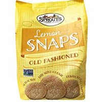 Sprouts Old Fashioned Lemon Snaps