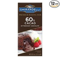 Ghirardelli Baking bar, 60% Cacao Bittersweet Chocolate