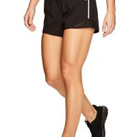 Women's Workout Running Shorts with Zipper Pocket