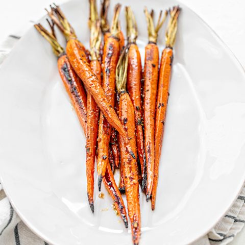 Honey Roasted Carrots with Balsamic