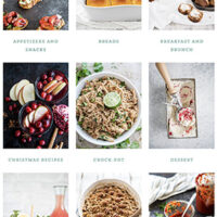 Explore the Recipe Index