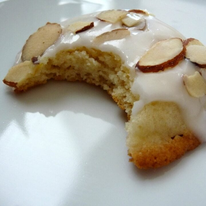 Lemon Buttermilk Cookies with Almond